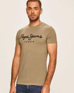 Koszula dzinsowa wełniany rozciągać Pepe Jeans