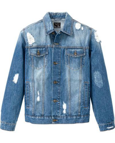 Джинсовая куртка голубой Bonprix