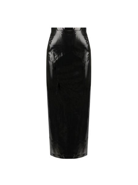 Хлопковая черная юбка с подкладкой No. 21