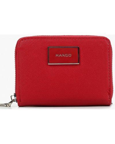 Красный кошелек из искусственной кожи Mango