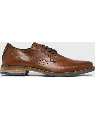 Туфли на шнуровке текстильные Bullboxer