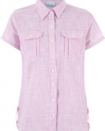 Рубашка с коротким рукавом приталенная Columbia
