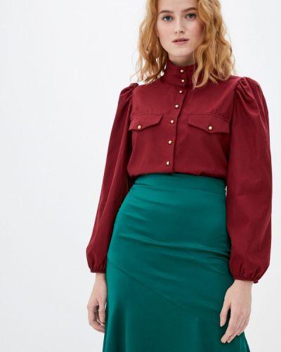 Красная блузка с длинными рукавами Trendyol