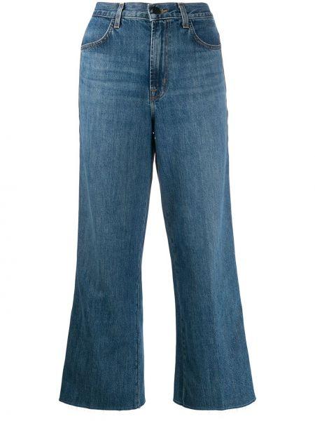 Широкие джинсы укороченные mom J Brand