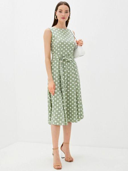 Повседневное платье весеннее зеленый Rosso-style