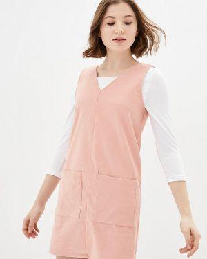 Платье прямое розовое Lilove