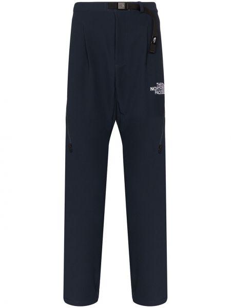 Spodnie z haftem - białe The North Face Black Series
