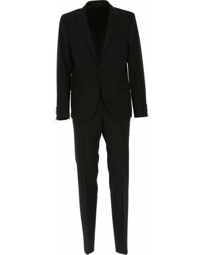 Czerwony garnitur bawełniany Karl Lagerfeld