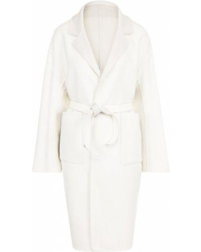 Пальто с поясом с карманами Loro Piana