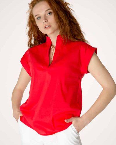 Блузка без рукавов - красная Innoe