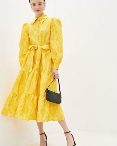 Прямое желтое платье Sister Jane