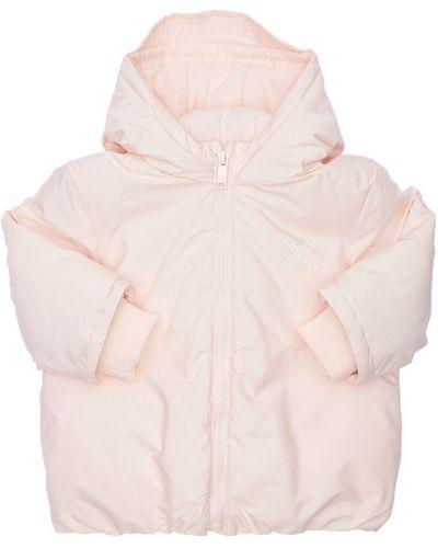 Дутая куртка - розовая Kenzo Kids