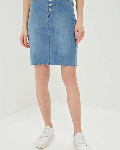 Джинсовая юбка - голубая Banana Republic