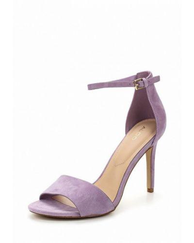 Фиолетовые босоножки на каблуке Aldo