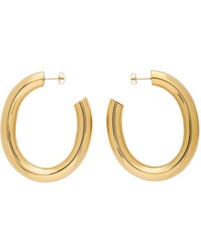 Серьги-гвоздики золотые Laura Lombardi