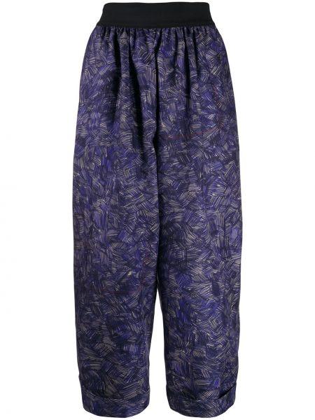 Укороченные брюки с поясом Rohka