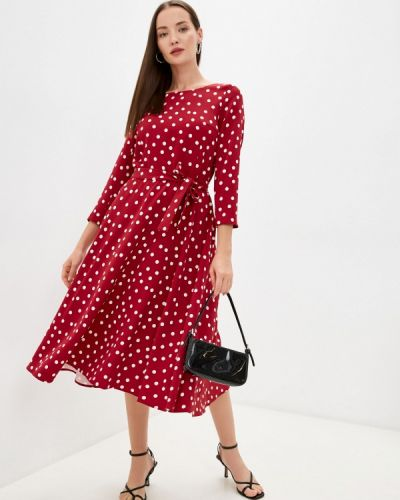Повседневное платье - бордовое Aelite