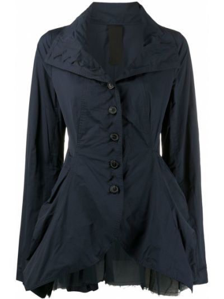 Длинная куртка - синяя Rundholz
