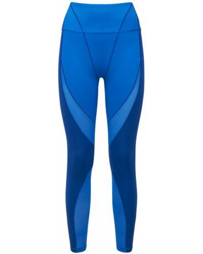 Синие леггинсы со вставками Adidas X Ivy Park