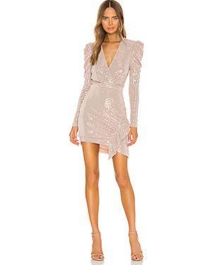 Плиссированное нейлоновое платье мини эластичное Iro