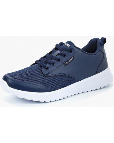 Синие кроссовки низкие Timejump