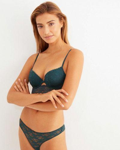Зеленый бюстгальтер из плотной ткани Women'secret
