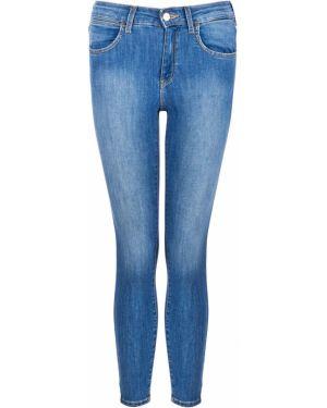Укороченные джинсы скинни синие Wrangler