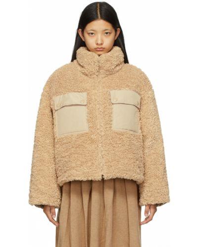 Пуховая куртка - бежевая Sjyp