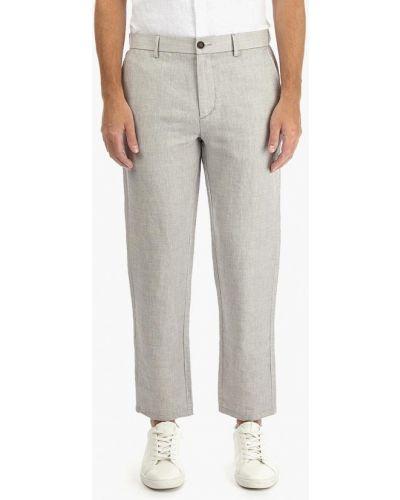 Серые брюки повседневные Burton Menswear London
