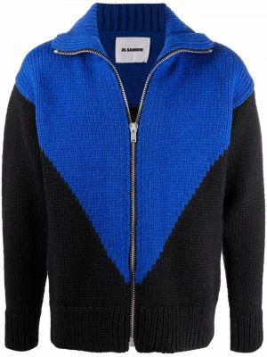 Czarny sweter moherowy Jil Sander
