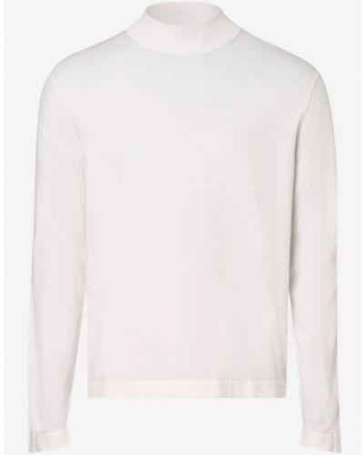 Biały sweter ze stójką Tiger Of Sweden
