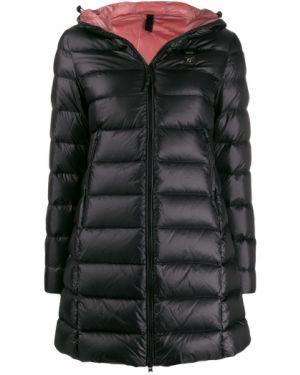 Куртка с капюшоном черная с вышивкой Blauer