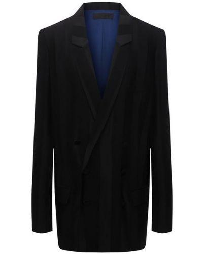 Шелковый пиджак - черный Haider Ackermann