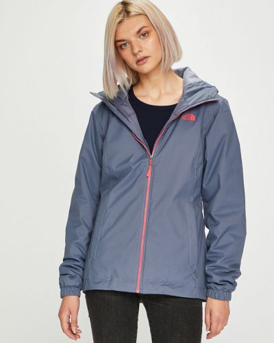 Утепленная куртка с капюшоном укороченная The North Face