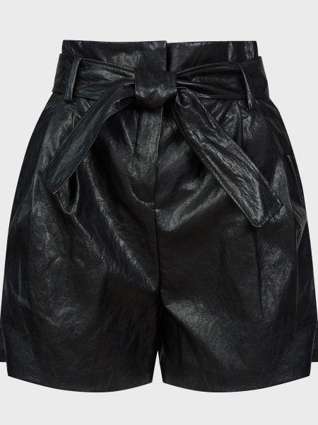 Черные шорты с поясом на молнии Ba&sh