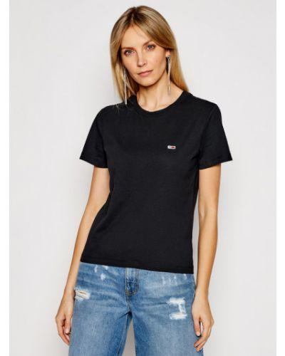 Czarny koszula jeansowa Tommy Jeans