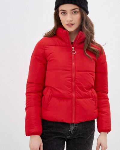 Утепленная куртка - красная Miss Gabby