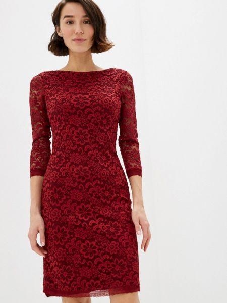 Клубное бордовое вечернее платье Concept Club