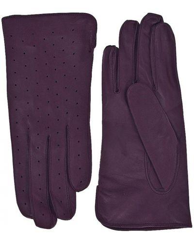 Фиолетовые кожаные перчатки Alpa Gloves