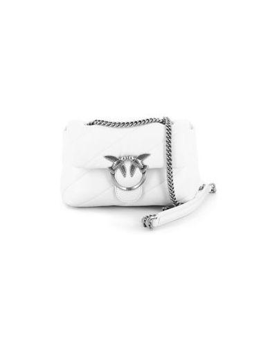 Белая сумка Pinko