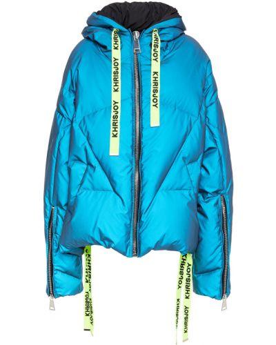 Niebieska włoska kurtka pikowana Khrisjoy