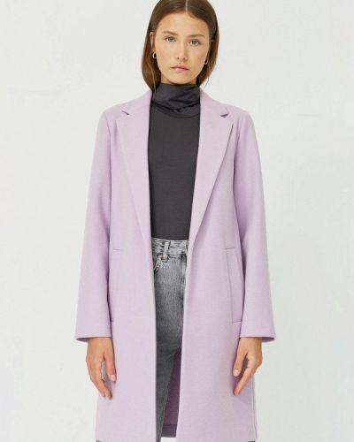 Фиолетовое пальто Stradivarius