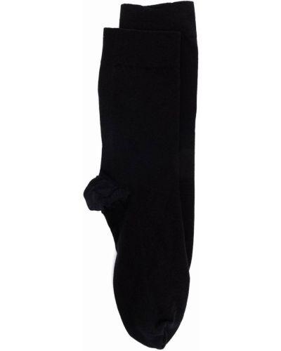 Черные хлопковые носки Wolford