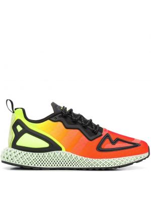 Ажурные черные сандалии на шнуровке круглые Adidas
