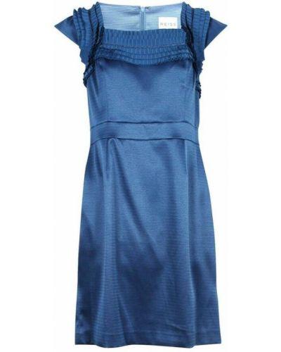 Niebieska sukienka Reiss