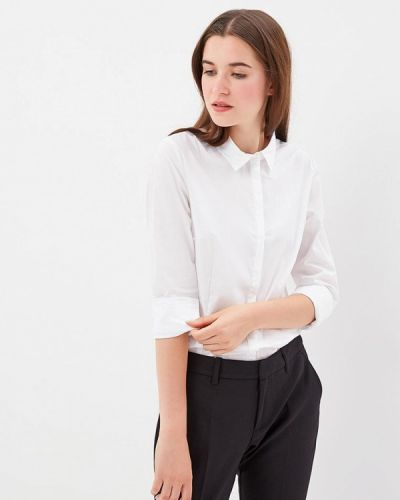 Белая рубашка с длинным рукавом S.oliver