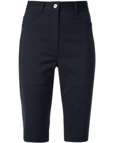 Джинсовые шорты с карманами со стразами на пуговицах Dion Lee