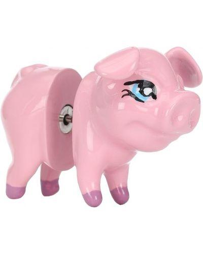Розовые серьги-гвоздики Balenciaga
