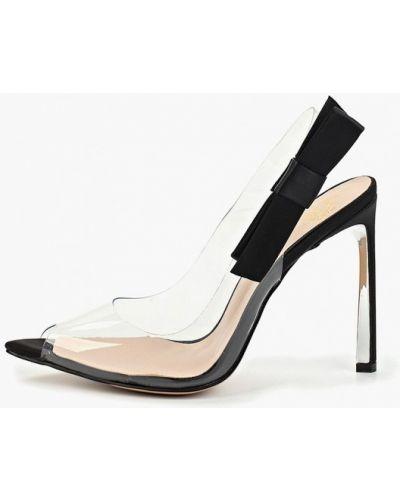 Туфли на каблуке прозрачные с открытой пяткой Diora.rim
