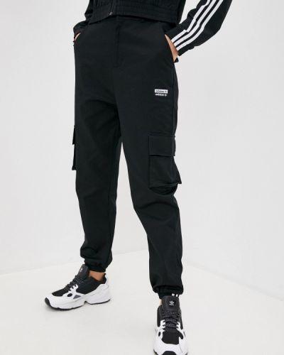 Черные брюки карго Adidas Originals